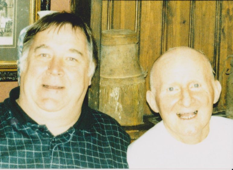 Andy Walker and Jimmy Johnstone