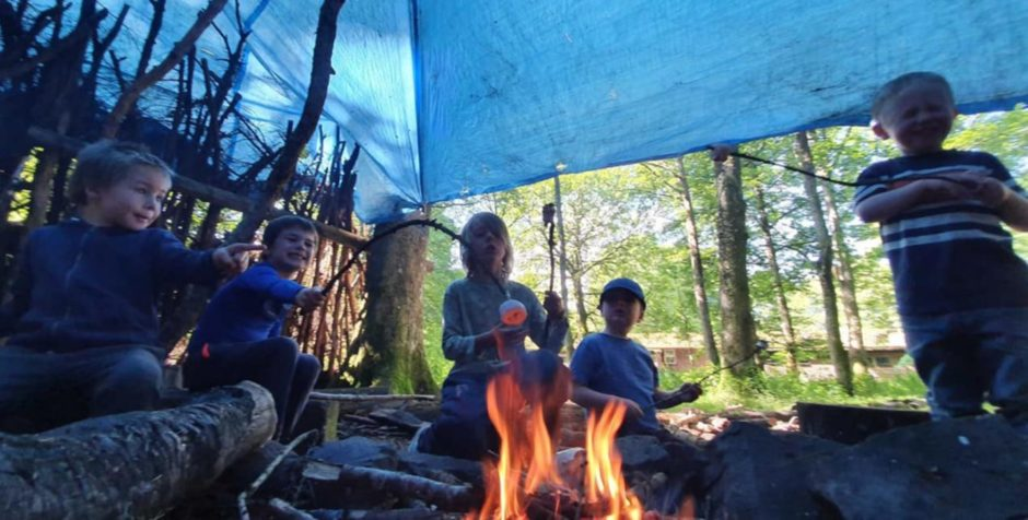 Outdoor education centres like Belmont, near Meigle, were under threat without support from the Scottish Government.