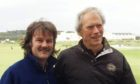 Dougie meets Clint Eastwood at St Andrew's Old Course.