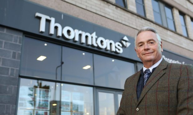 Area property manager at Thorntons Property, Morton Simpson.