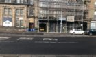 A police cordon remained in place on Tuesday.