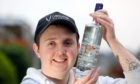 "Jory Duncan of the Carnoustie Distillery with his ""White Chocolate Vodka""."