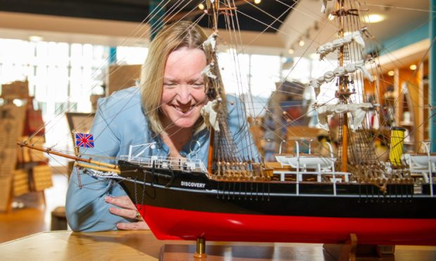 Dierdre Robertson, CEO of Dundee Heritage Trust.