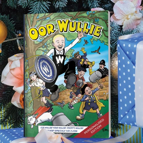 Oor Wullie Personalised Annual 2021