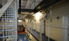 Inverness Prison, which has been deemed out of date by prison inspectors.