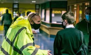 """The rector of Kirkcaldy High School """"genuinely feared"""" the school would be forced to close"""