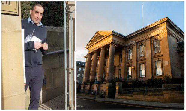 Yasin Okhai appeared at Dundee Sheriff Court.