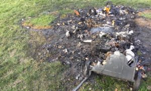 A spate of fires have been started in Broughty Ferry.