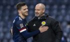 Scotland captain Andy Robertson and boss Steve Clarke.