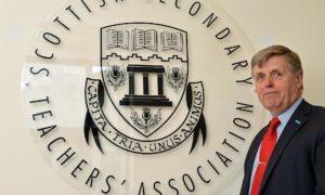 Seamus Searson, general secretary of the Scottish Secondary Teachers Association.