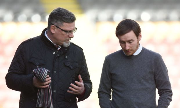 Craig Levein and Ian Cathro.