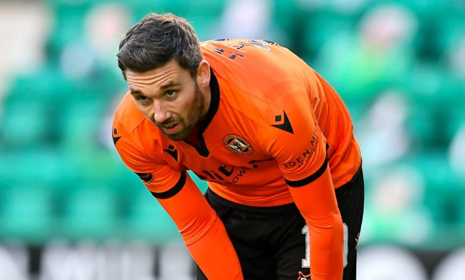 Nicky Clark has been Dundee United's main source of goals this season.