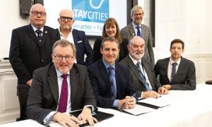 Partners when the initial Heads of Terms agreement for the Tay Cities Deal was signed in 2018.