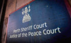 The case was heard at Perth Sheriff Court.