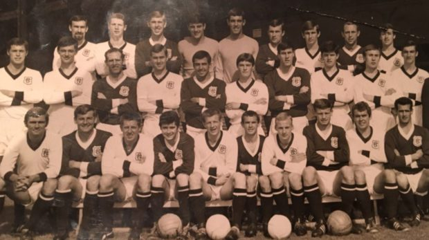 Jim McLean is pictured back row, second from right.