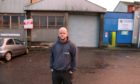 Timmy Knight pictured outside his office in Horsewater Wynd