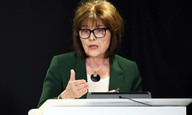 Scotland's Health Secretary Jeane Freeman holds a briefing on the novel coronavirus COVID-19 outbreak in Edinburgh. PA Photo. Picture date: Thursday March 26, 2020. See PA story HEALTH Coronavirus. Photo credit should read: Andy Buchanan/PA Wire