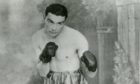 Dundee born and bred champion boxer Jim Brady.