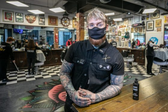 pre-lockdown haircuts Dundee
