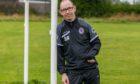 Dryburgh Athletic Community Club coach Sandy McWilliam.
