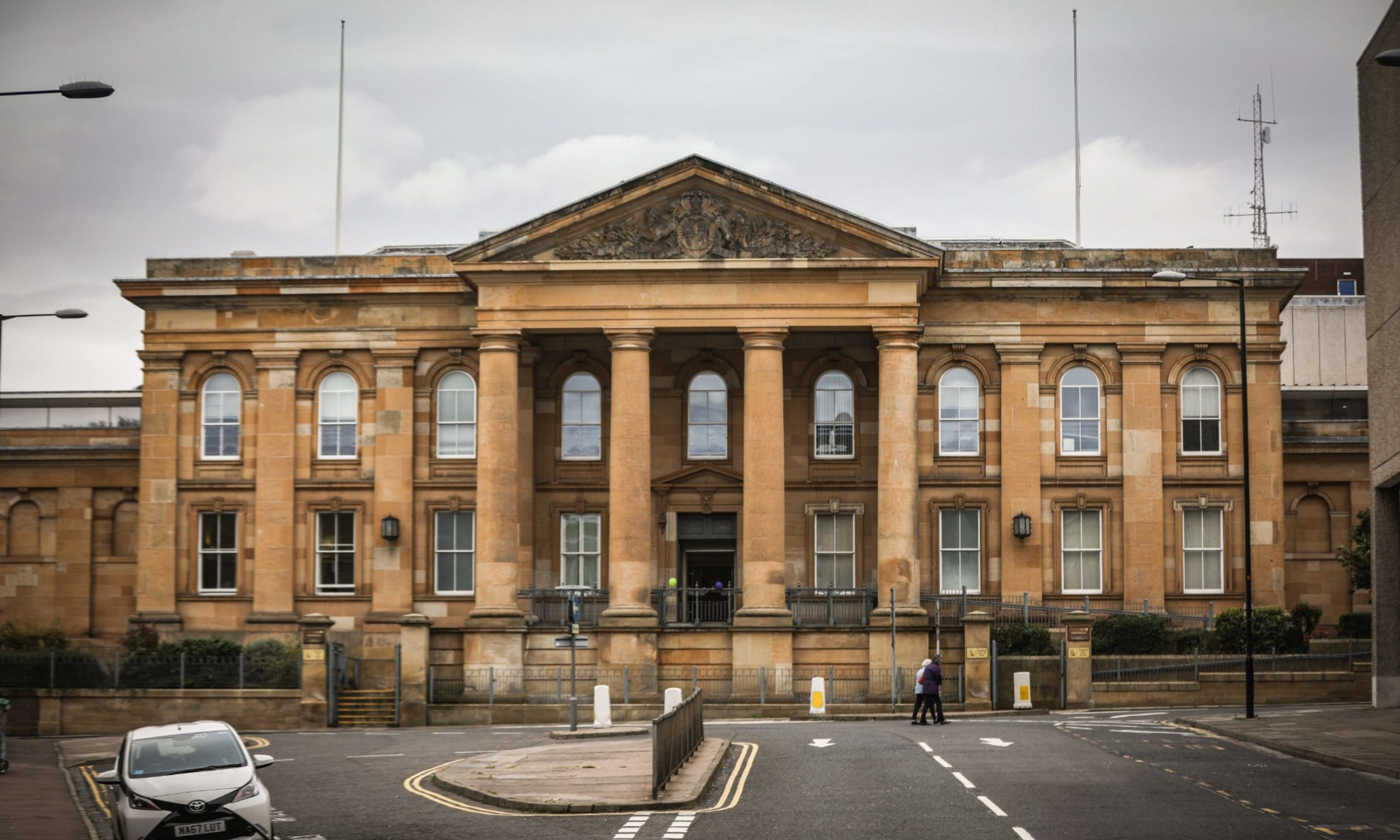 Steven McCafferty Dundee court