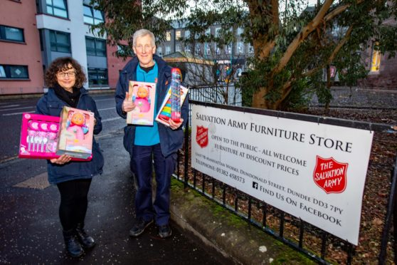 Christmas Present Appeal Salvation Army