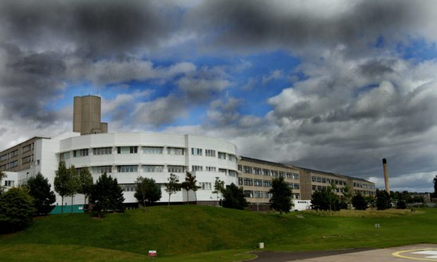 NHS Tayside's flagship hospital, Ninewells in Dundee.