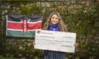 Strathallan pupil Tamanna Okhai was part of the fundraising team for Strath Kenya.