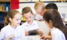 The percentage of primary school pupils in Dundee and Fife who are in smaller classes is lower than the national average
