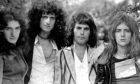 Queen at Ridge Farm recording studio, UK - Aug 1975