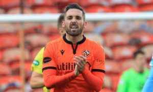 Dundee United striker Nicky Clark was at the centre of a saga between the Terrors and rivals Dundee.