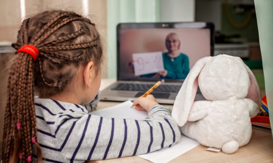 The majority of pupils are currently learning from home.