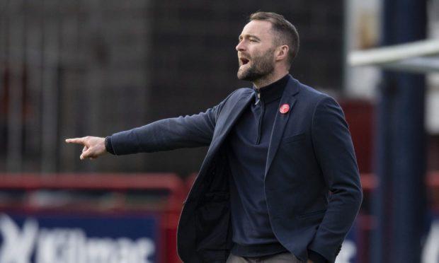 Dundee manager James McPake.