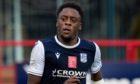 Dundee striker Jonathan Afolabi.