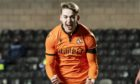 Dundee United forward Louis Appere celebrates his goal against St Johnstone.