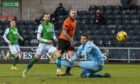 Winger Martin Boyle put Hibs 2-0 up in the second half.