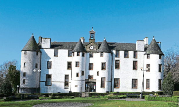 Dudhope Castle for sale