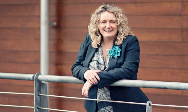 Alison Henderson of Dundee and Angus Chamber of Commerce