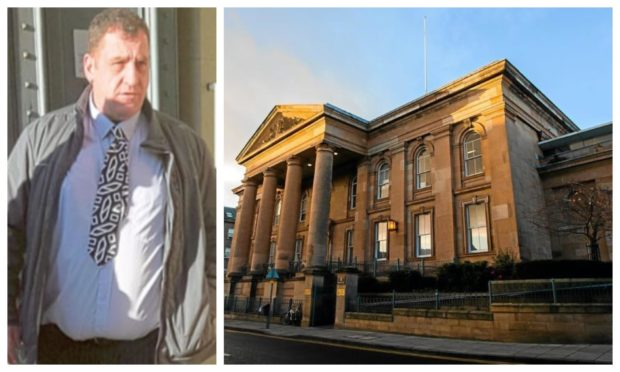 Andrew Taylor admitted punching a friend in the face at McDonald's in Reform Street and remonstrating with police.