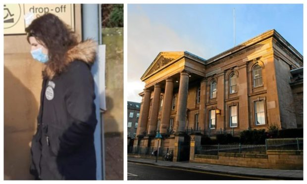 Denen Anderson admitted the offences at Dundee Sheriff Court.