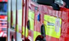 Fire crews were called to a wildfire in Thurso