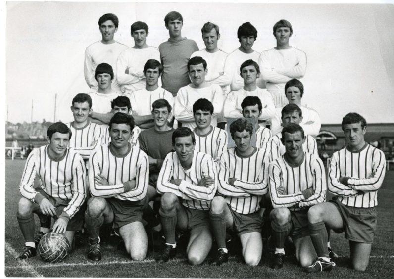 Forfar Athletic team photo.