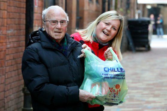 pensioner bingo money foodbank