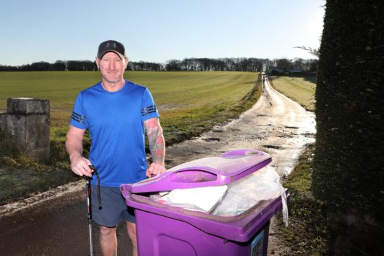 bin collections Angus