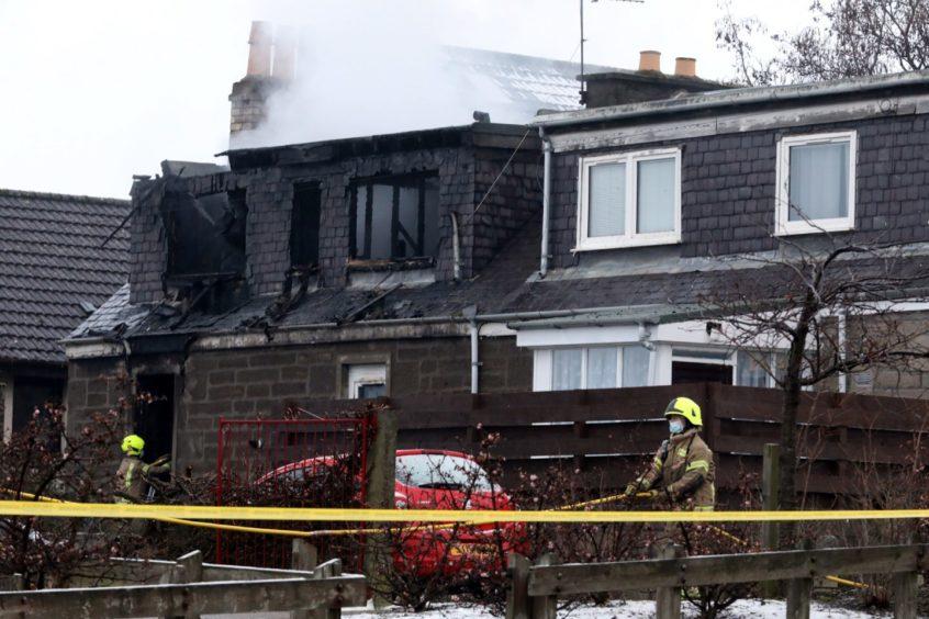 Lochee fire Stewart Street