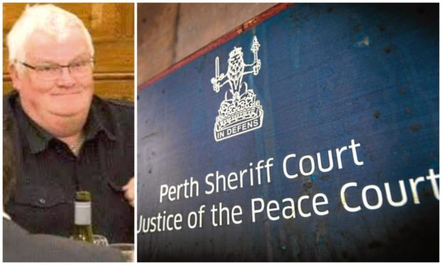 Donald Griffin admitted the offences at Perth Sheriff Court and was placed on the sex offenders register.