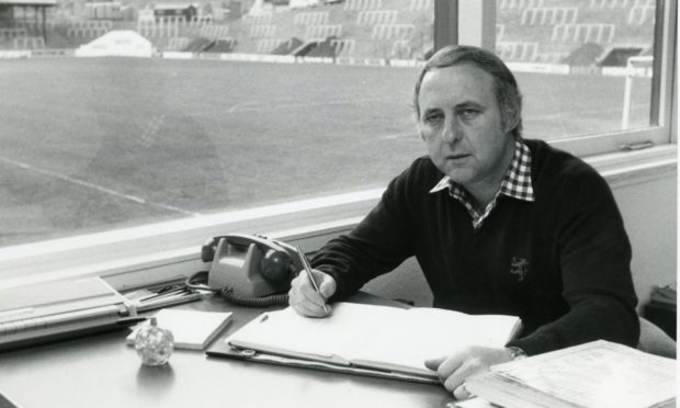 The late great Jim McLean.
