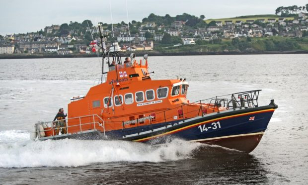 The Broughty Ferry Lifeboat was called to a hoax call. (Library image).