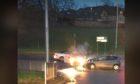 The crash on Friday evening.