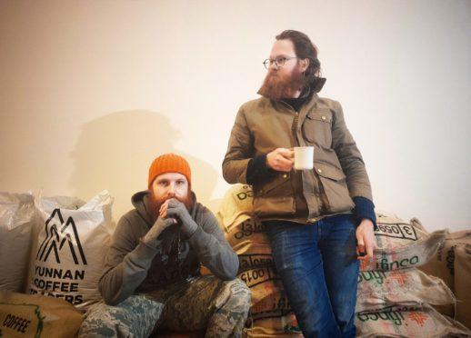Alex and Lukasz from Manifesto Coffee.